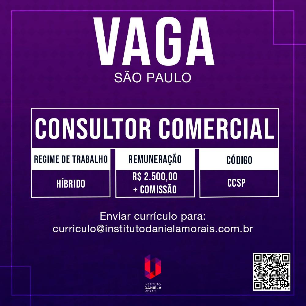 Consultor Comercial – SP