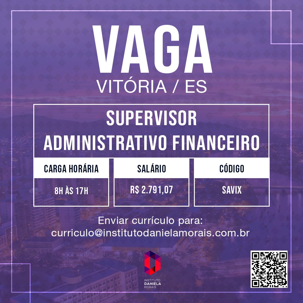 Supervisor Administrativo Financeiro